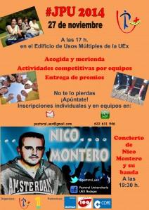 Jornada de Pastoral Universitaria. Concierto de Nico Montero y su banda @ Badajoz | Extremadura | España