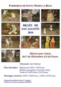 Belén de San Agustín 2014. Parroquia Santa María la Real (Badajoz) @ Badajoz | Extremadura | España