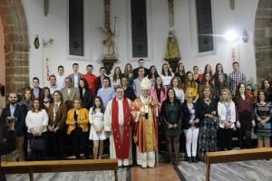 Arzobispo Celso Morga confirmacion en Valverde de Leganes