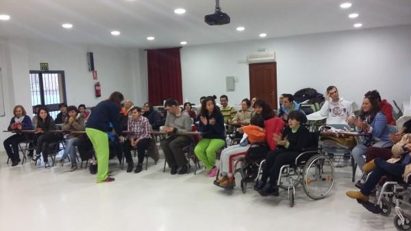 Resultado de imagen de discapacitados en parroquia guadalupe