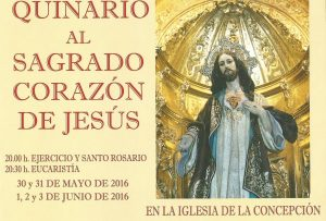 Quinario al Sagrado Corazón de Jesús (Iglesia de la Concepción -Badajoz-)