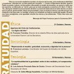 Aula Fe-Cultura (Colegio Oficial de Farmacéuticos -Badajoz-) @ Badajoz | Extremadura | España