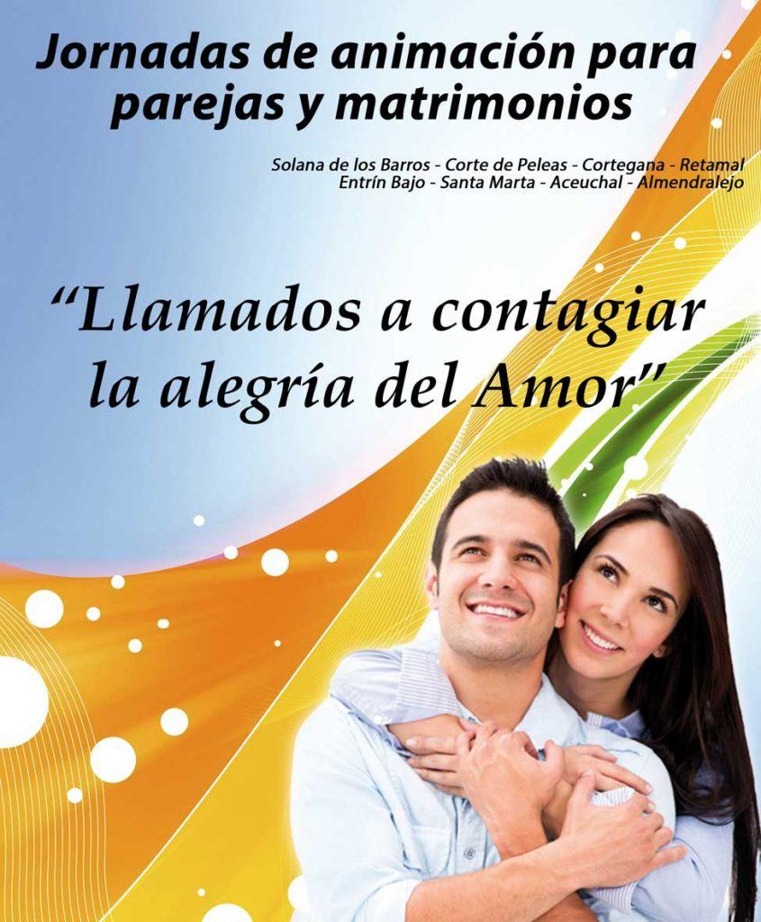 Jornadas de animación para parejas y matrimonios - Equipos de Nuestra Señora - @ Cortegana | Extremadura | España