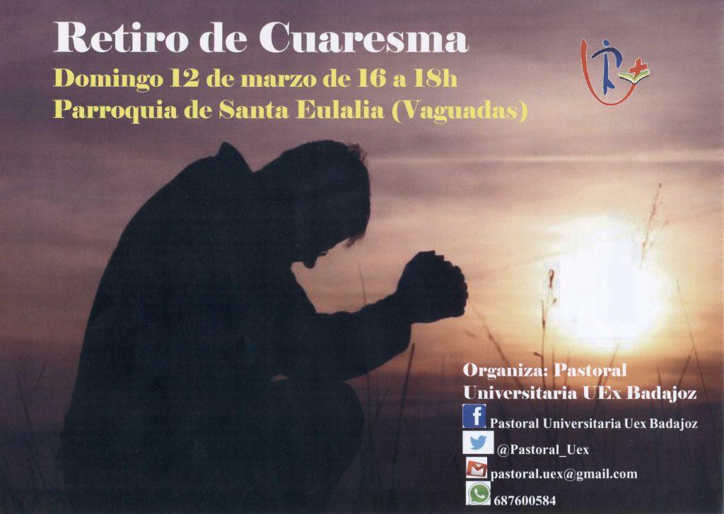 Retiro de Cuaresma de la Universidad de Extremadura