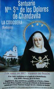Viernes de pasión - Santuario de Chandavila -