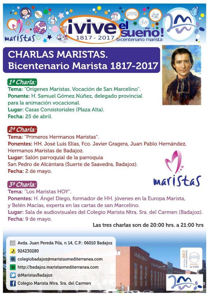 Charlas Maristas - Bicentenario Marista 1817-2017