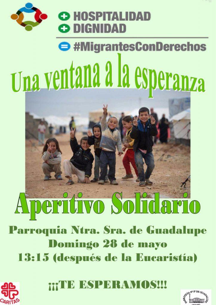 Aperitivo Solidario - Parroquia Ntra. Sra. de Guadalupe, en Badajoz -