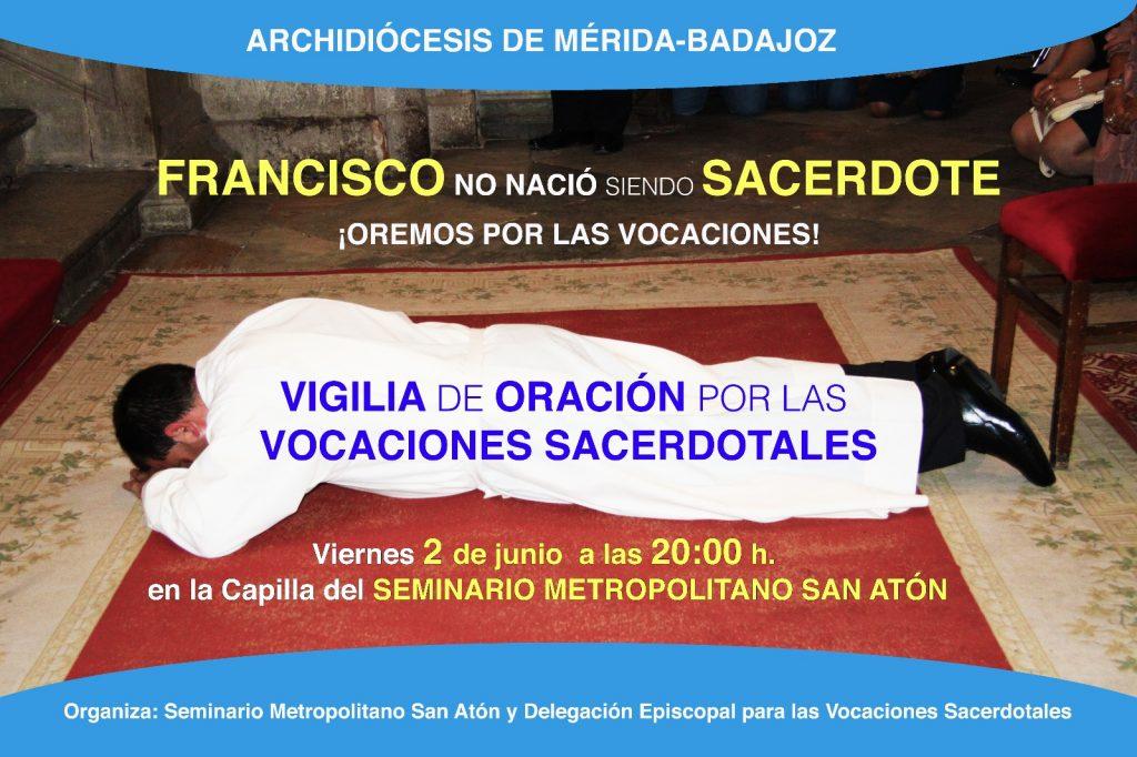 Vigilia de oración por las vocaciones sacerdotales
