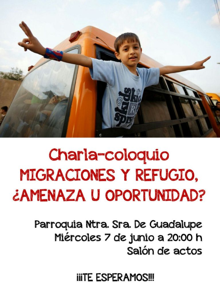 """Charla-Coloquio """"Migraciones y Refugio"""""""