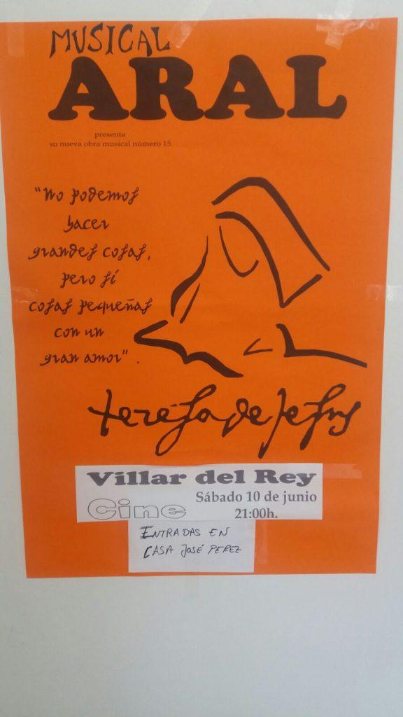 Musical Aral en Villar del Rey