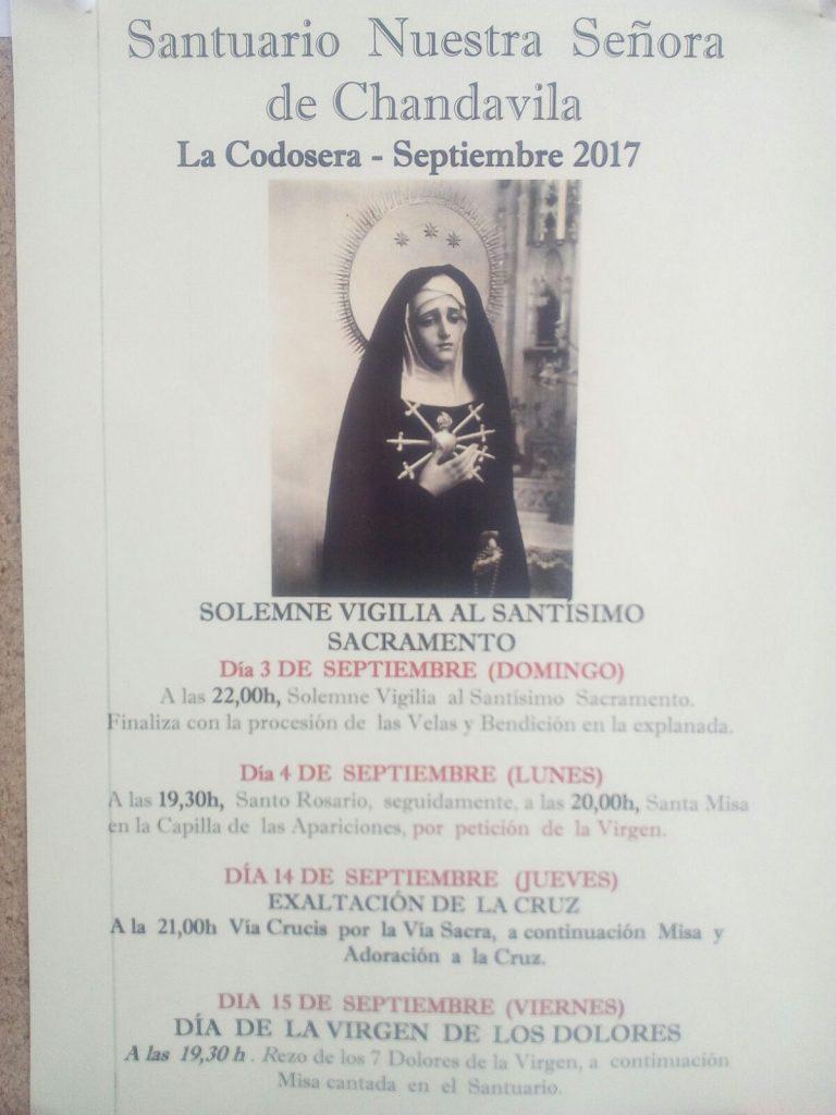 Solemne Vigilia al Santísimo Sacramento - Chandavila -