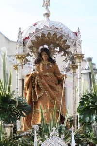 Santa Eulalia en parroquia Perpetuo Socorro -Mérida-