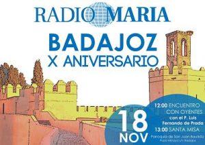 Jornada Interdiocesana de Radio María (Parroquia San Juan Bautista -Badajoz-)