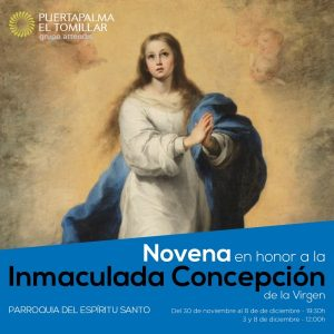 Novena a la Inmaculada Concepción (Parroquia Espíritu Santo -Badajoz-)