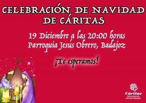 Celebración de Navidad de Cáritas (Parroquia Jesús Obrero -Badajoz-)