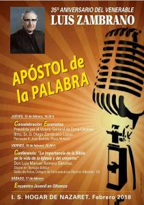 Misa 35 aniversario muerte del venerable Luis Zambrano (Parroquia San Juan Bautista -Badajoz-)