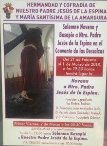 Novena Jesús de la Espina (Convento de las Descalzas -Badajoz-)