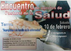 Encuentro de agentes de Pastoral de la Salud (Parroquia San Roque -Badajoz-)