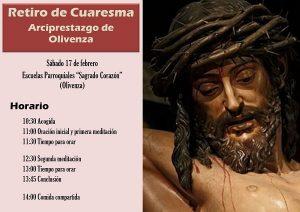 """Retiro de Cuaresma (Escuelas parroquiales """"Sagrado Corazón"""" -Olivenza-)"""