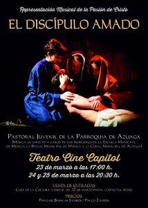 """Musical """"El discípulo amado"""" (Teatro-cine """"Capitol"""" -Azuaga-)"""