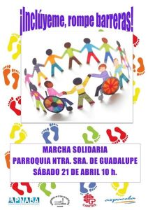 Marcha solidaria (Parroquia Ntra. Sra. de Guadalupe -Badajoz-)