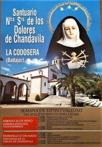 Semana Espiritualidad santuario Chandavila (La Codosera)