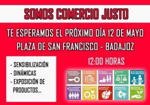 Día del Comercio Justo (Plaza San Francisco -Badajoz-)