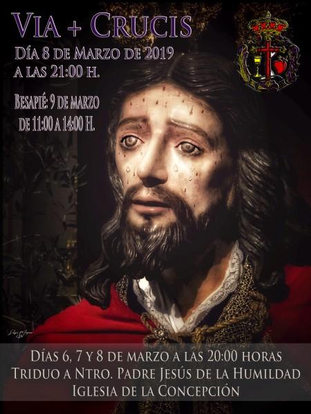 Besapié Cristo de la Humildad (Templo de la Concepción -Badajoz-)