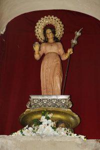 Santa Eulalia, virgen y mártir
