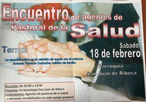 Encuentro Formativo de Agentes de Pastoral de la Salud