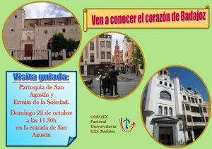 Visita guiada a la parroquia de San Agustín y ermita de la Soledad (Badajoz)