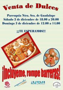 Venta de dulces solidaria (Parroquia Ntra. Sra. de Guadalupe -Badajoz-)