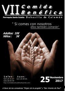 VIII Comida benéfica (Dehesilla de Calamón -Badajoz-)