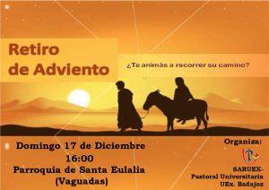 Retiro de Adviento (Parroquia Santa Eulalia -Badajoz-)