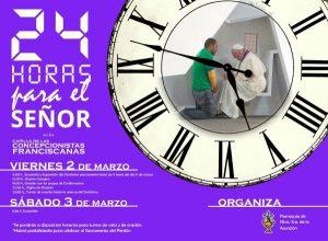 24 horas para el Señor (Capilla de las Concepcionistas Franciscanas -Villanueva de la Serena-)