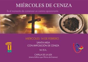 Miércoles de ceniza (Capilla Uex -Badajoz-)