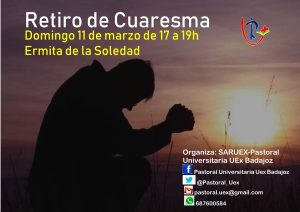 Retiro de Cuaresma Pastoral Universitaria (Ermita de la Soledad -Badajoz-)