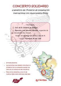 Concierto solidario (Parroquia San José -Badajoz-)