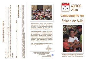 Campamento Gredos 2018 (Delegación episcopal para las Vocaciones Sacerdotales)