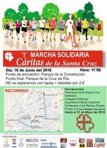 I Marcha solidaria (Parque de la Constitución -Villanueva de la Serena-)