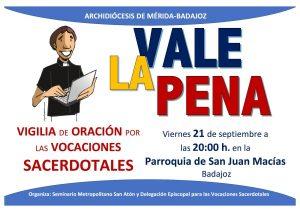 Vigilia de oración por vocaciones sacerdotales (Parroquia San Juan Macías - Badajoz)