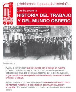Cursillo sobre la historia del trabajo y del mundo obrero (Parroquia Jesús Obrero -Badajoz-)