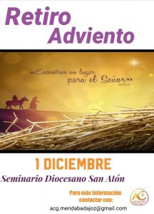 Retiro Adviento ACG (Seminario -Badajoz-)