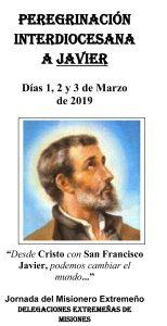 Peregrinación interdiocesana a Javier