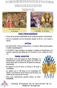 Peregrinación Virgen de la Montaña (Cáceres)