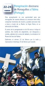 Peregrinación diocesana de Monaguillos a Fátima