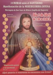 12 horas ante el Santísimo (Parroquia San Juan de Ribera -Badajoz-)