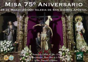 Misa 75 aniversario Hermandad Descendimiento (Parroquia San Andrés -Badajoz-)