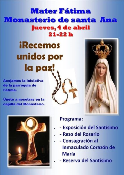 Vigilia Eucarística (Concatedral de Mérida/Monasterio de Santa Ana -Badajoz-)