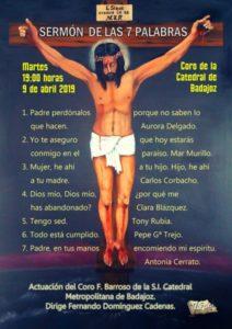 Sermón de las 7 Palabras (Catedral de Badajoz)